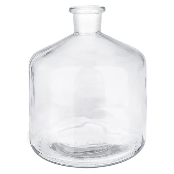 Voorraadfles 2000 ml helder glas