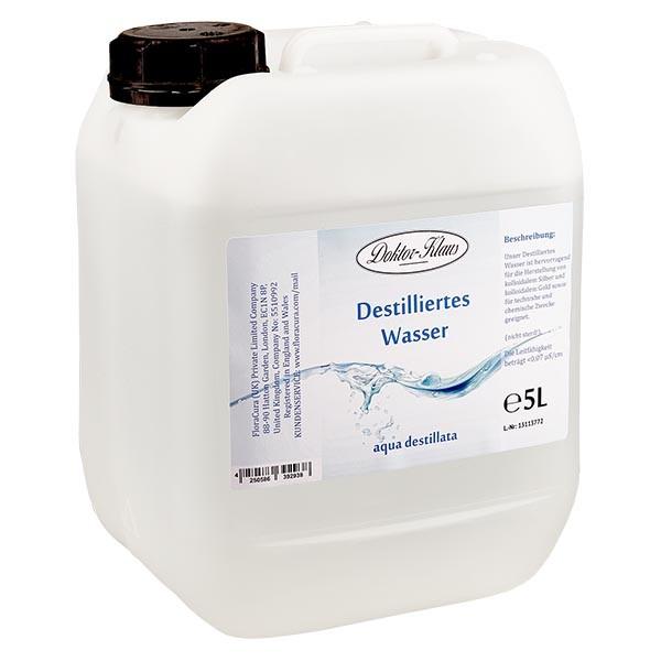 5 liter gedestilleerd water / Aqua destillata