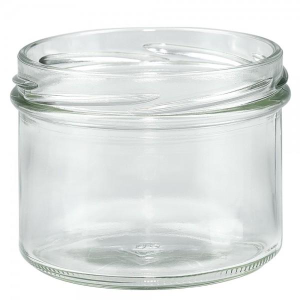 Twist-Off glazen potten lossen onderdelen 225ml stortglas