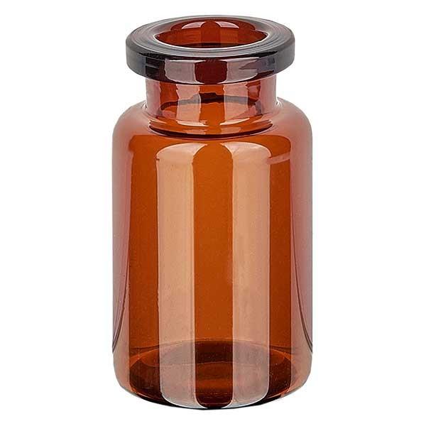 Injectiefles bruin glas 10ml