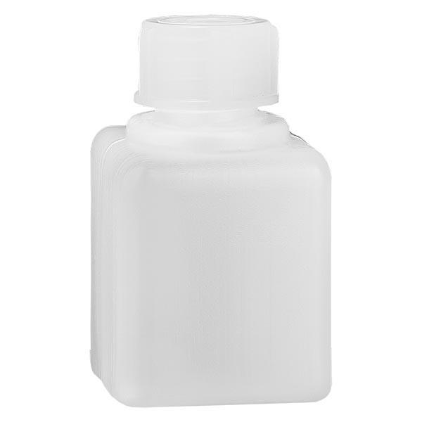 Chemicaliënfles 20 ml, nauwe hals, incl. sluiting GL 18