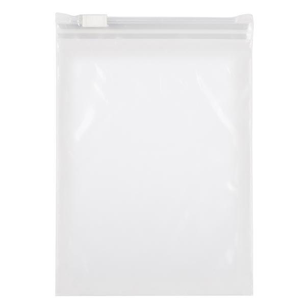 100 LDPE zakken met schuifsluiting, 160 x 220