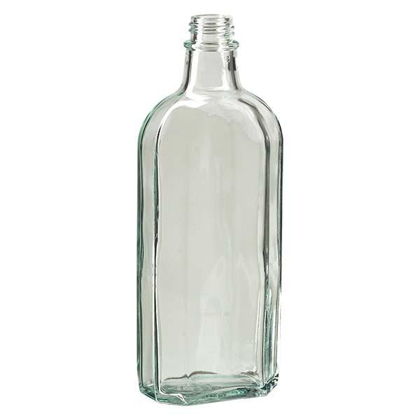 250 ml witte meplatfles met DIN 22 monding
