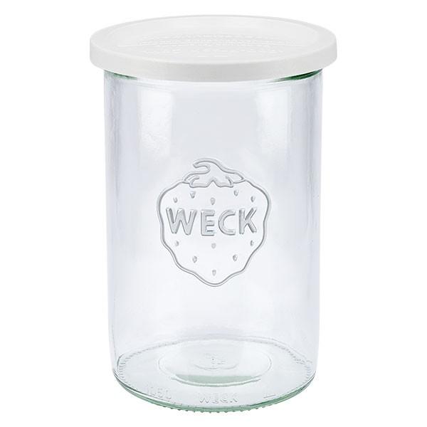 WECK-stortglas 1000ml met vershouddeksels