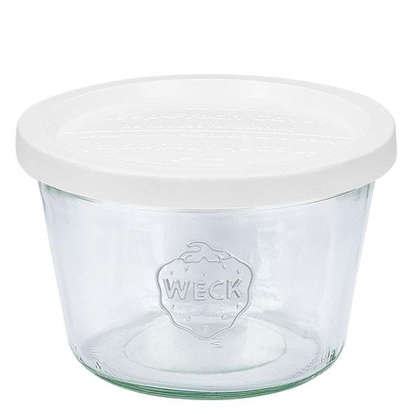 WECK-stortglas 370ml (1/4 liter) met vershouddeksel