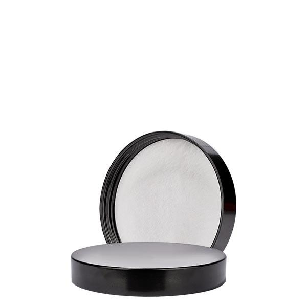 Schroefsluiting zwart bakeliet 51mm/R3