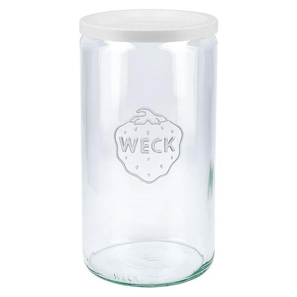 WECK-cilinderglas 1590ml met vershouddeksels