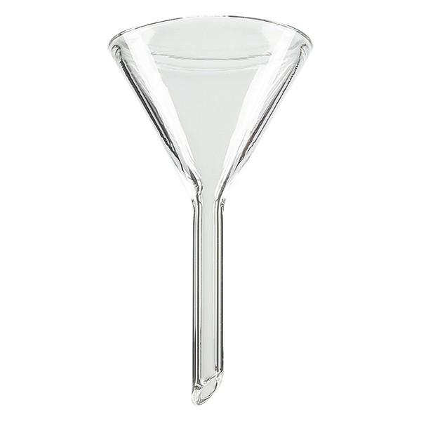 Glazen trechter Ø 35mm - kalk-soda-glas - 60° hoek