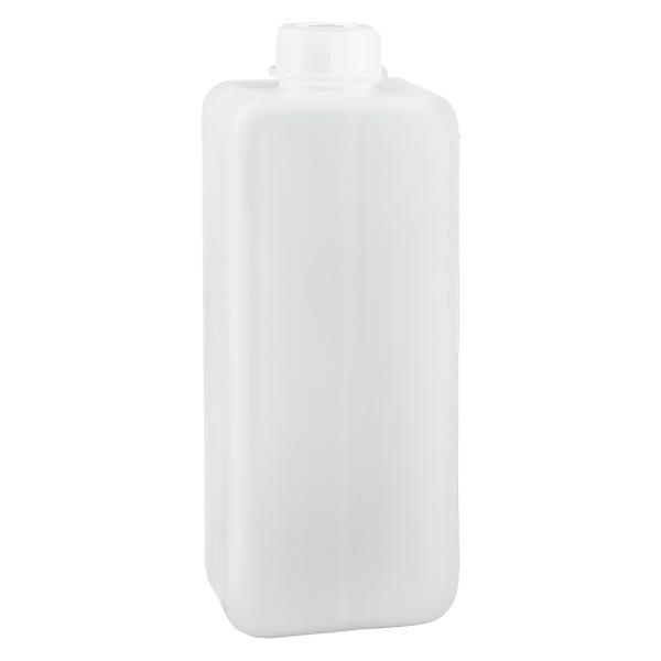 Chemicaliënfles 1000 ml, nauwe hals, incl. sluiting GL 32
