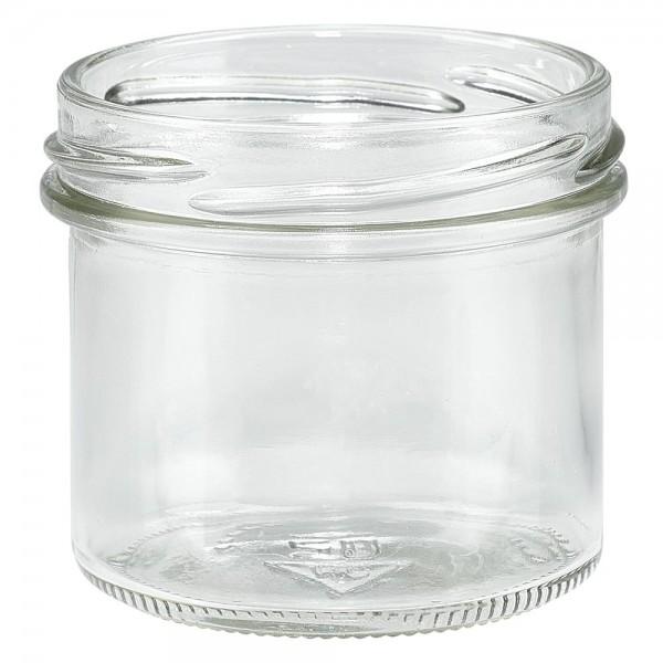 Twist-Off glazen potten lossen onderdelen 125ml stortglas