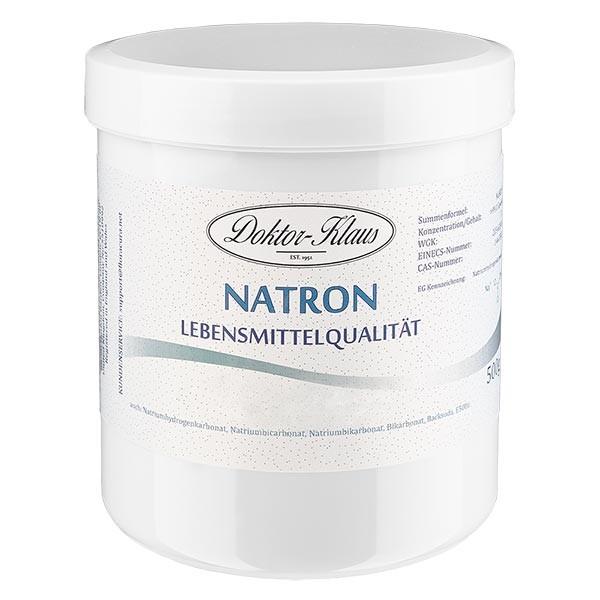 Doktor-Klaus Natron, 500g in witte pot, levensmiddelenkwaliteit