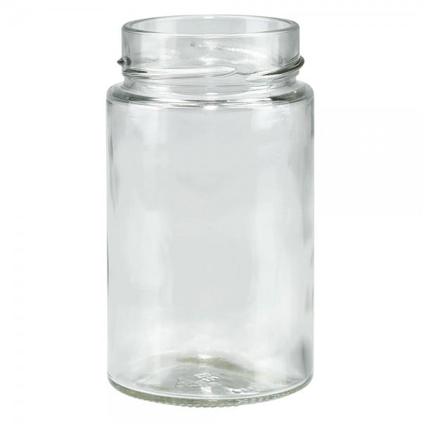 Twist-Off glazen potten lossen onderdelen 245ml ronderand glas