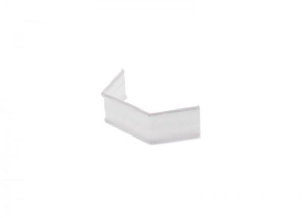 100 x U-Clip van papier, lengte 33, wit