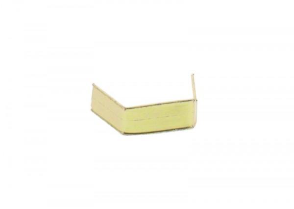 100 x U-Clip van papier, lengte 40, goud