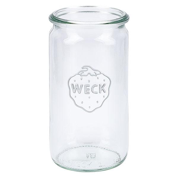 WECK-cilinderglas 340ml onderstuk