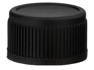 Kunststof schroefdop zwart 13 mm