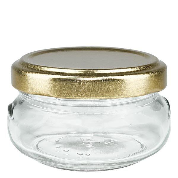 UNITWIST Terrina 120ml met gouden Twist-Off deksel TO70