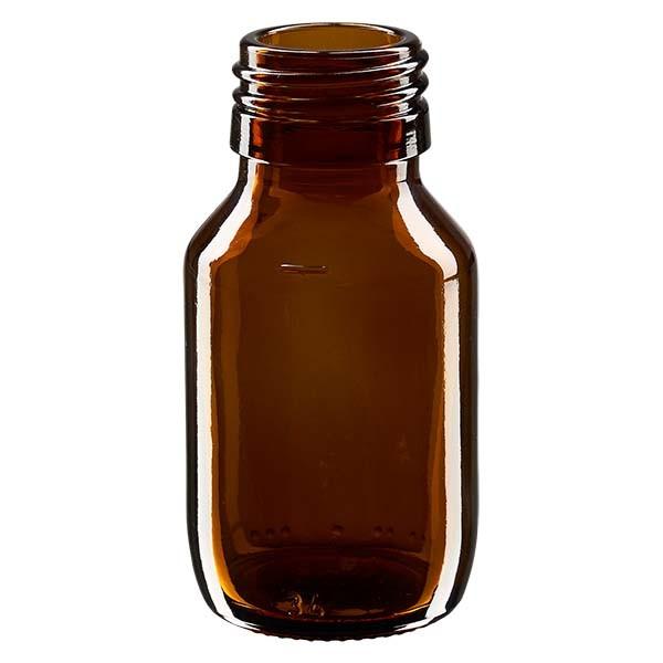 50ml Euro-medicijnfles bruin