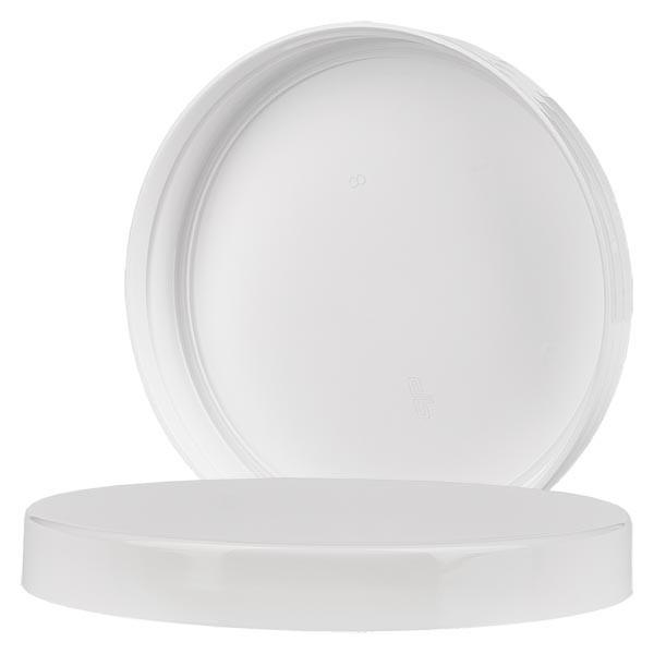 Schroefsluiting wit schroefdraad 100 mm voor 1000 ml PET potten met schroefdeksel