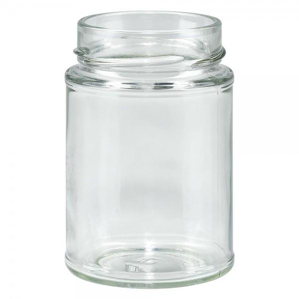 Twist-Off glazen potten lossen onderdelen 202ml ronderand glas