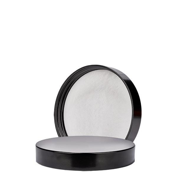 Schroefsluiting zwart bakeliet 58mm/R3